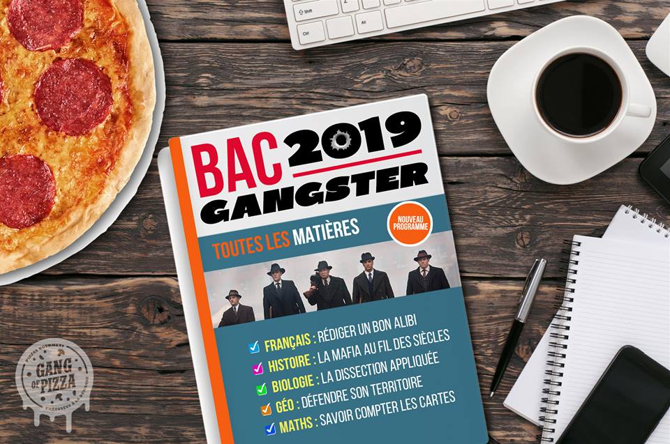 Objectif bac 2019 Option «gangster»