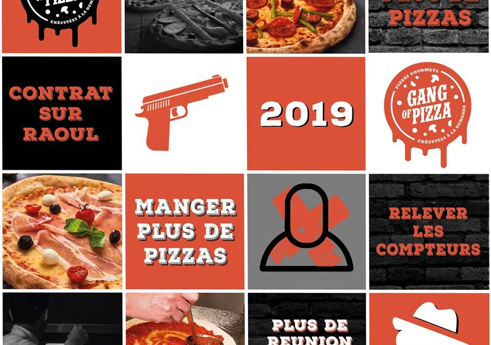 Les meilleurs résolutions se réfléchissent autour d'une bonne pizza 🍕