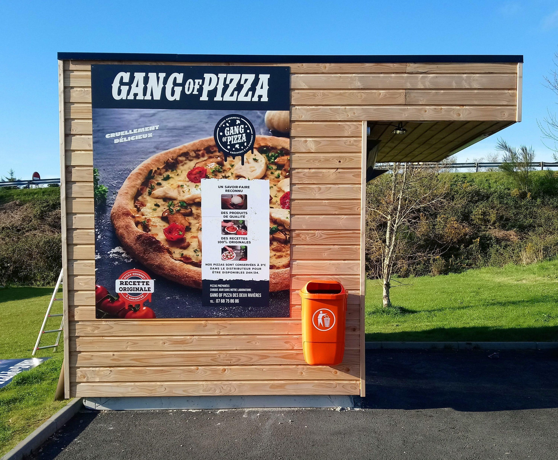 Distributeurs automatiques de pizzas dans le finistere