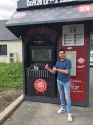 distributeur automatique de pizzas gourmets et fraiches ! Gang of pizza Romorantin 2019