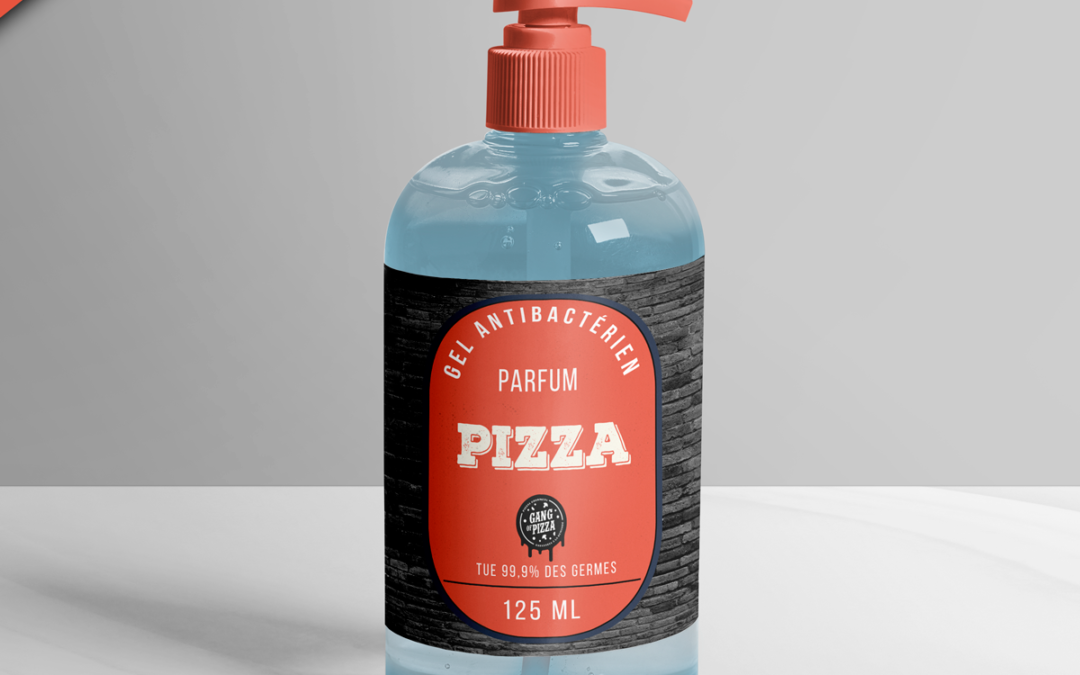 Gang Of Pizza lance son propre gel hydroalcoolique… saveur pizza !