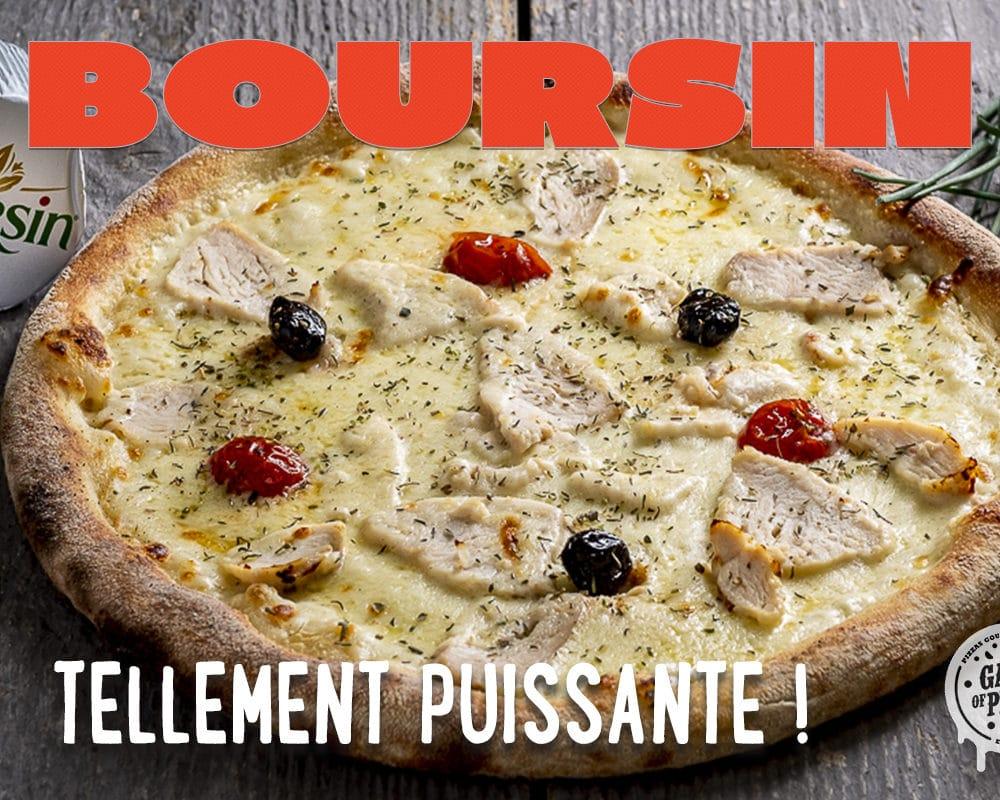 Gang Of Pizza lance sa Pizza Boursin® en édition limitée