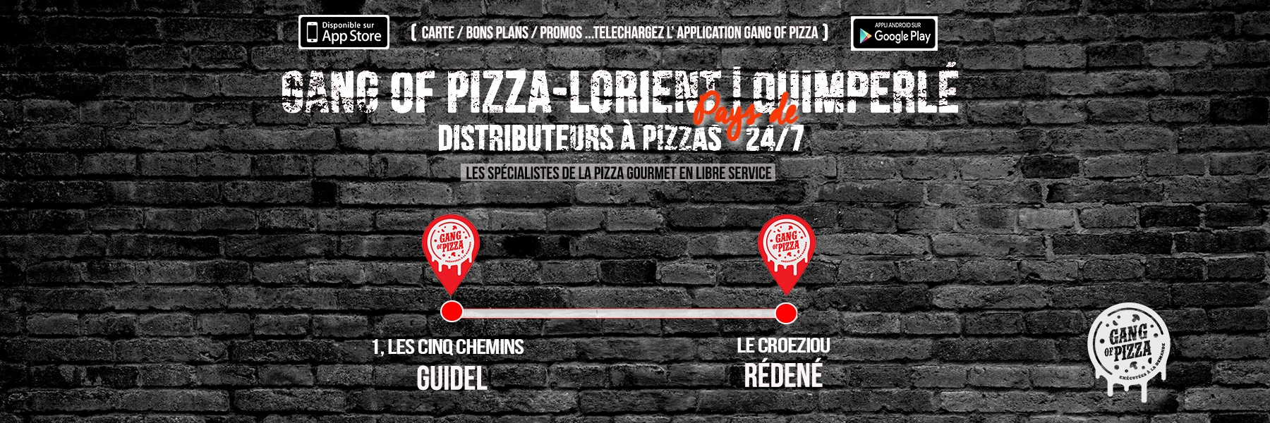 Gang Of Pizza Rédéné Guidel