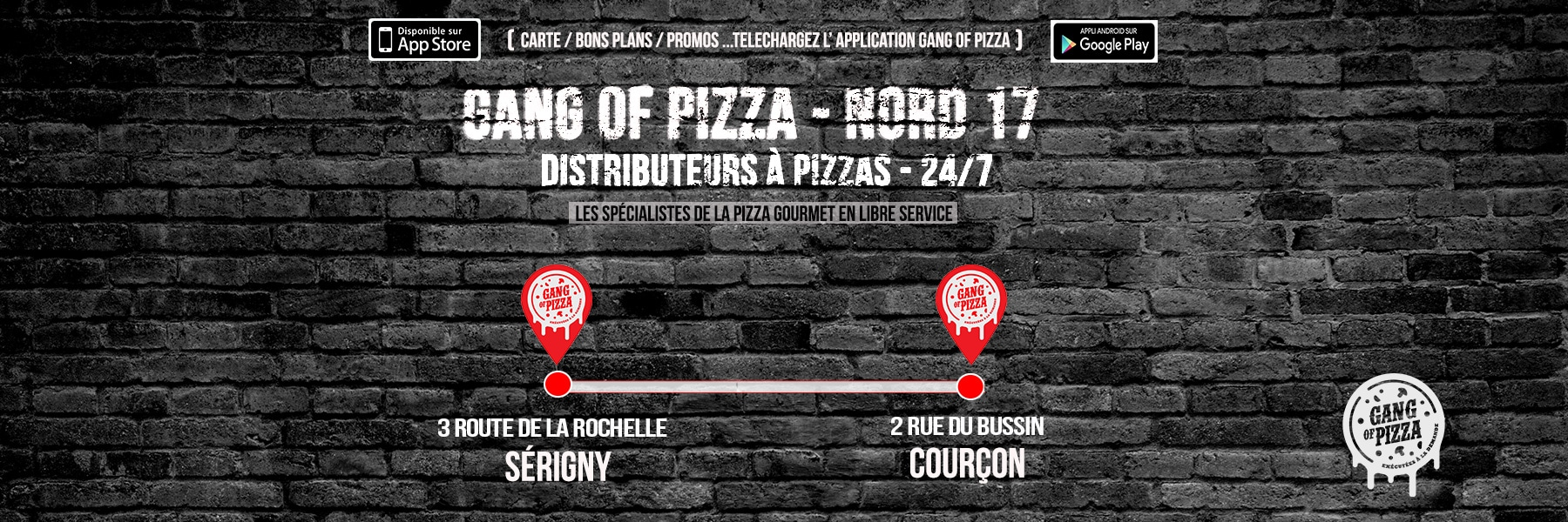 Gang Of Pizza Serigny Courcon