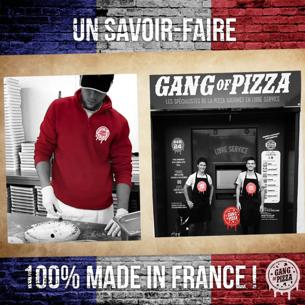 Gang Of Pizza, un savoir-faire 100% Made In France !