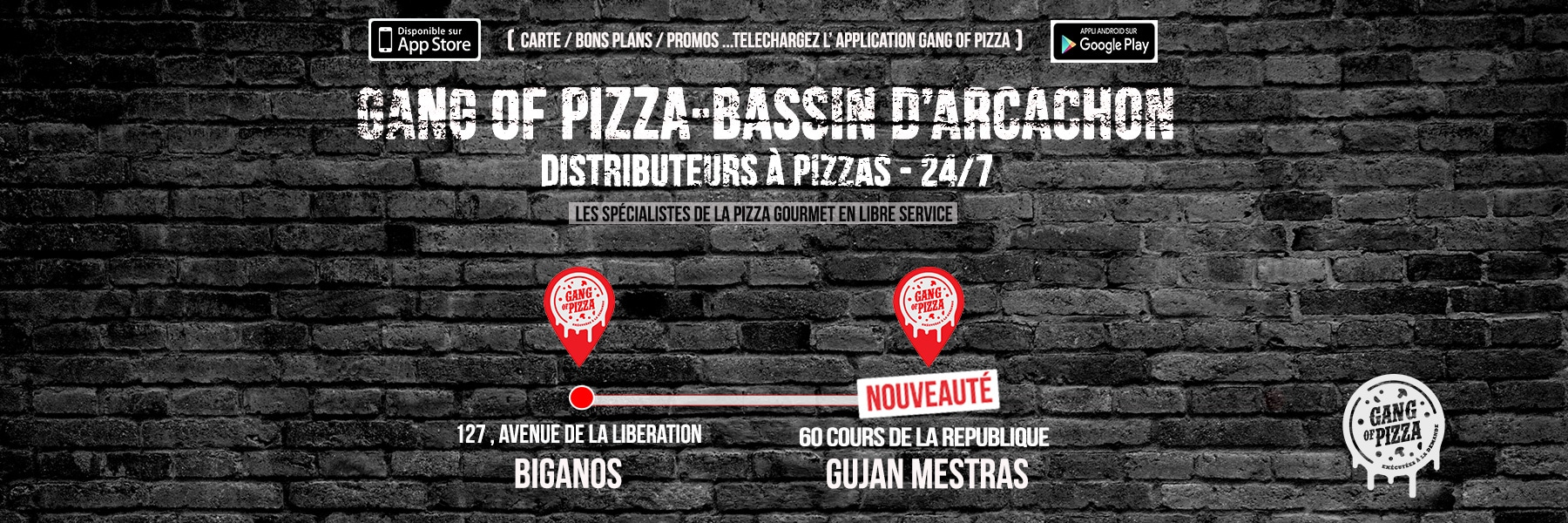 Gang Of Pizza Arcachon