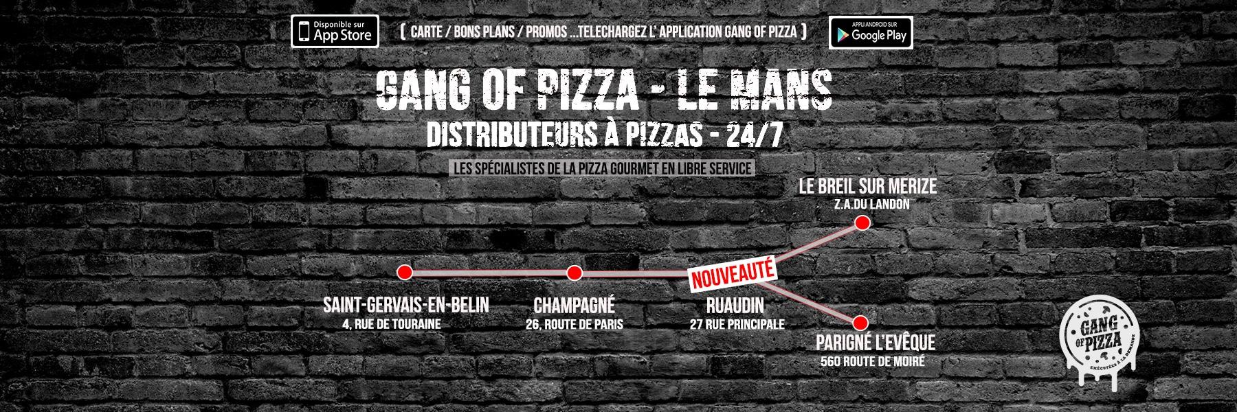 Gang Of Pizza Le Mans