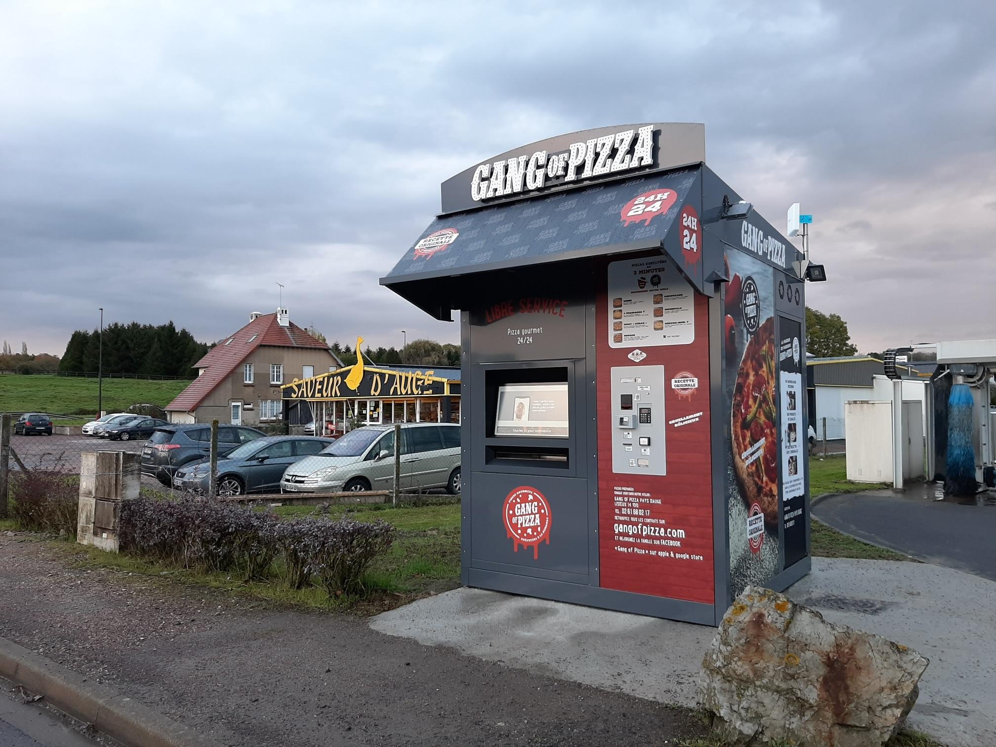 GANG OF PIZZA PONT LEVEQUE 24H7J