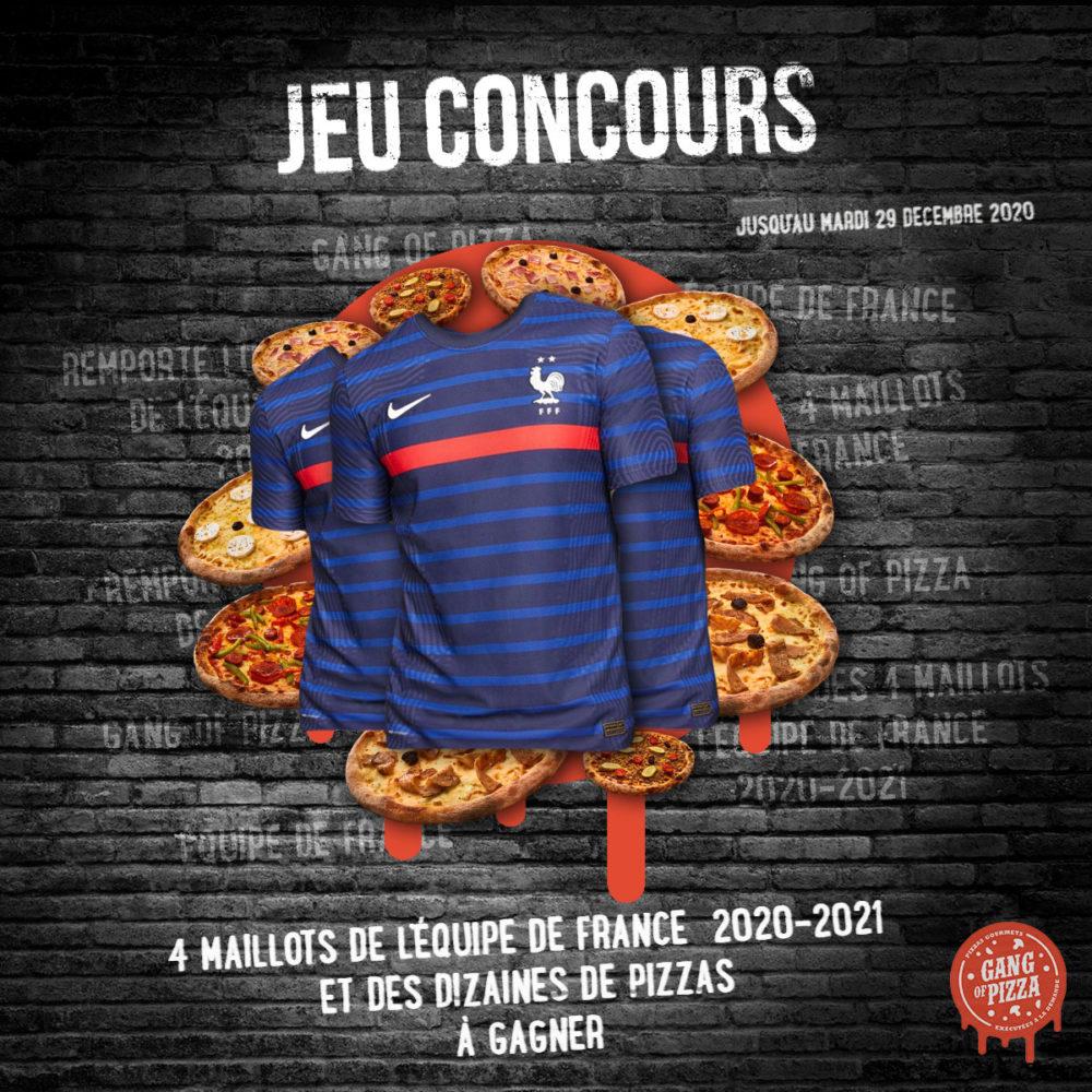 Règlement Jeu Concours Gang Of Pizza Décembre 2020