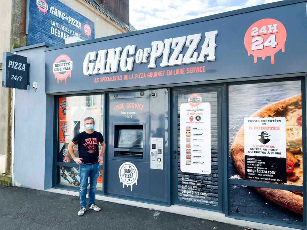 GANG OF PIZZA DEBARQUE A LAIGUILLON SUR VIE