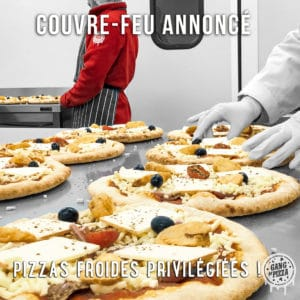 Couvre-feu : pensez aux pizzas froides Gang Of Pizza