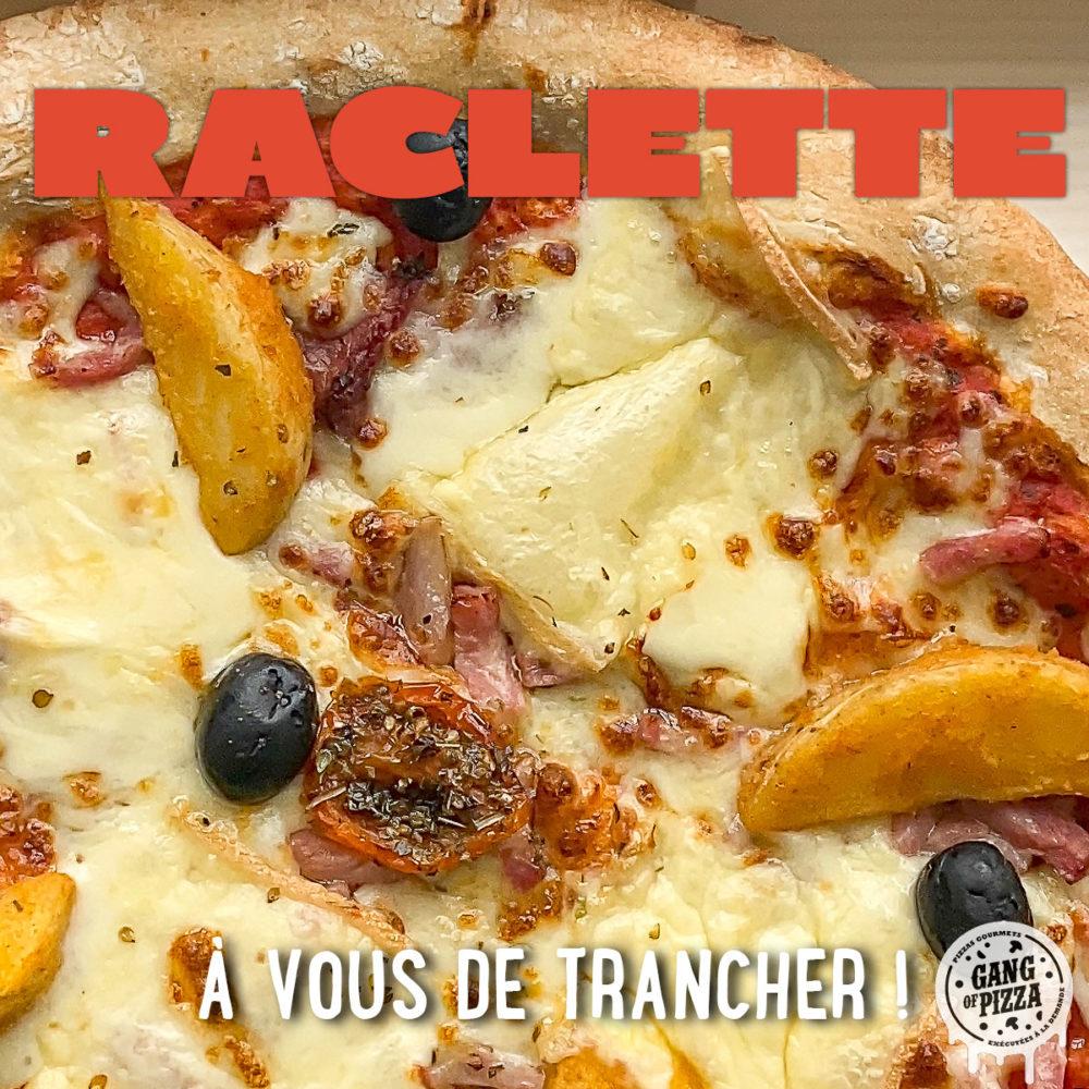 La Pizza Raclette débarque ! [Edition limitée !]