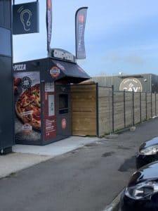 GANG OF PIZZA DEBARQUE A BECON LES GRANITS