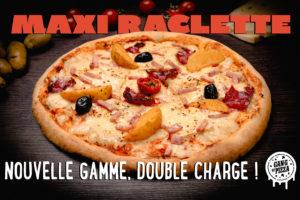 LA MAXI RACLETTE DEBARQUE CHEZ GANG OF PIZZA