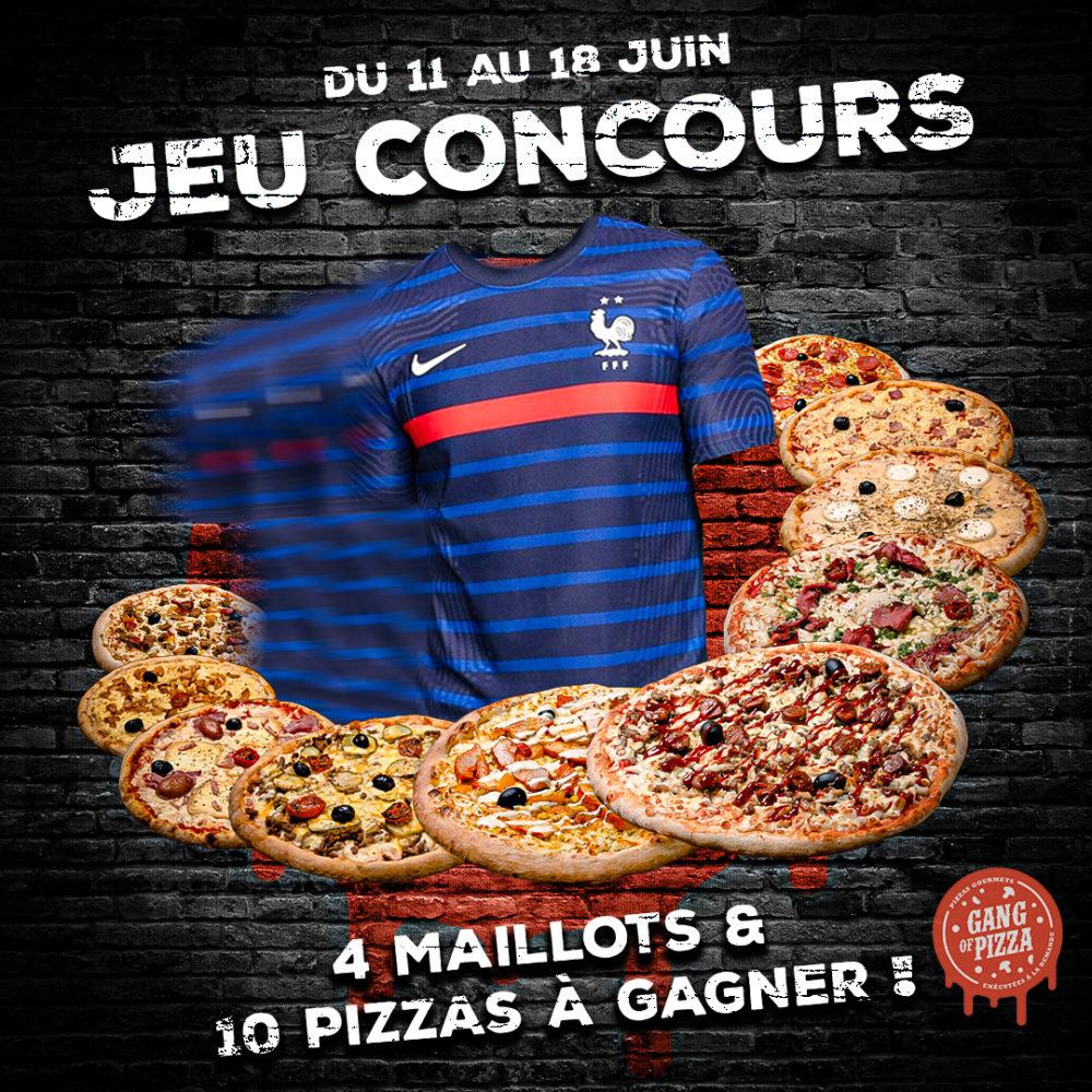 Règlement Jeu Concours Gang Of Pizza Juin 2021