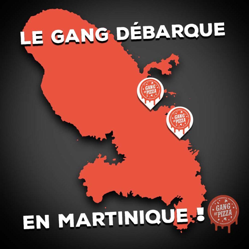 GANG OF PIZZA DÉBARQUE EN MARTINIQUE